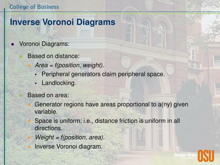 Inverse Voronoi Diagrams