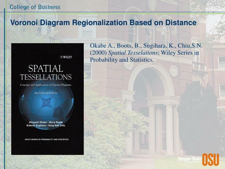 Voronoi Diagram Regionalization Based on Distance