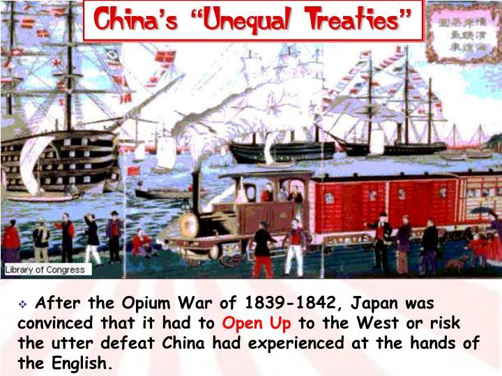 "China's ""Unequal Treaties"""