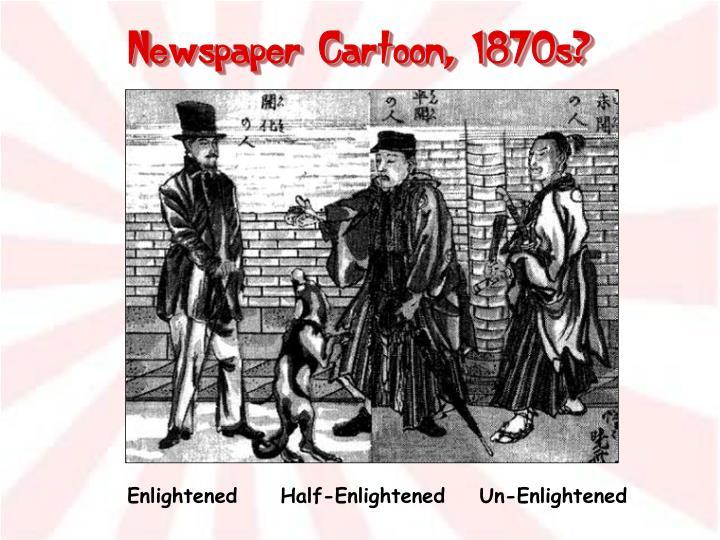 Newspaper Cartoon, 1870s?