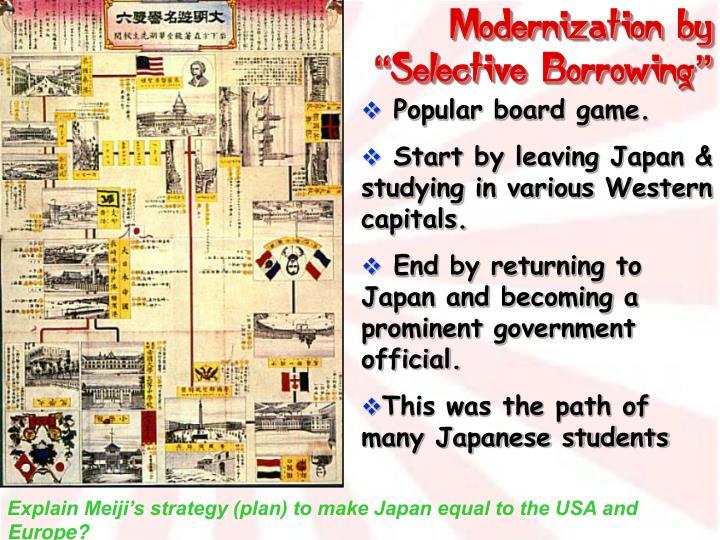 Modernization by