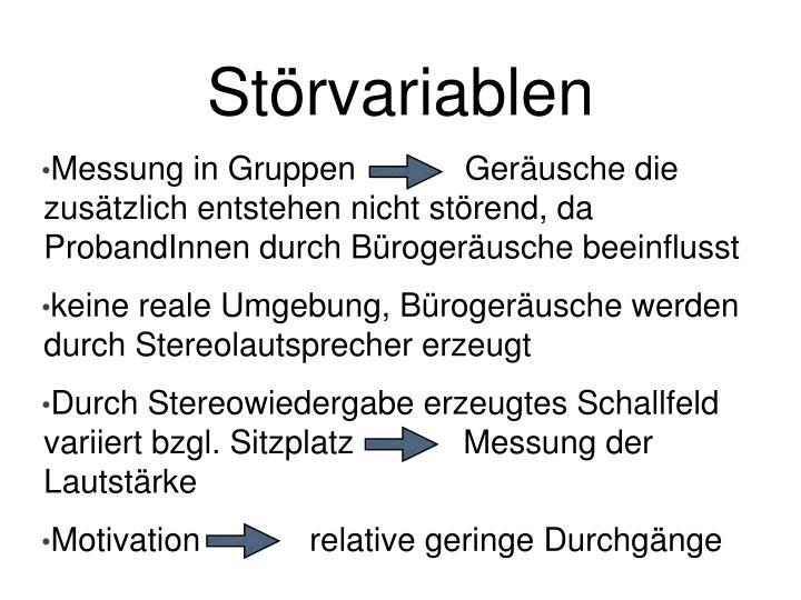 Strvariablen