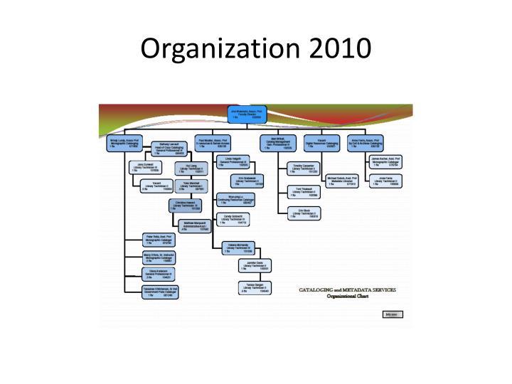 Organization 2010