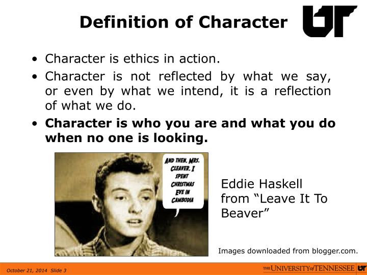 Definition of Character