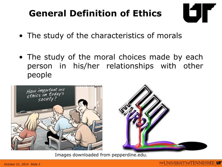 General Definition of Ethics