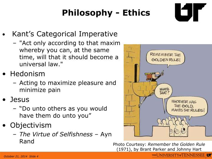 Philosophy - Ethics