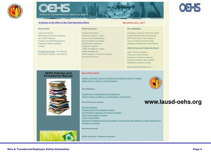www.lausd-oehs.org
