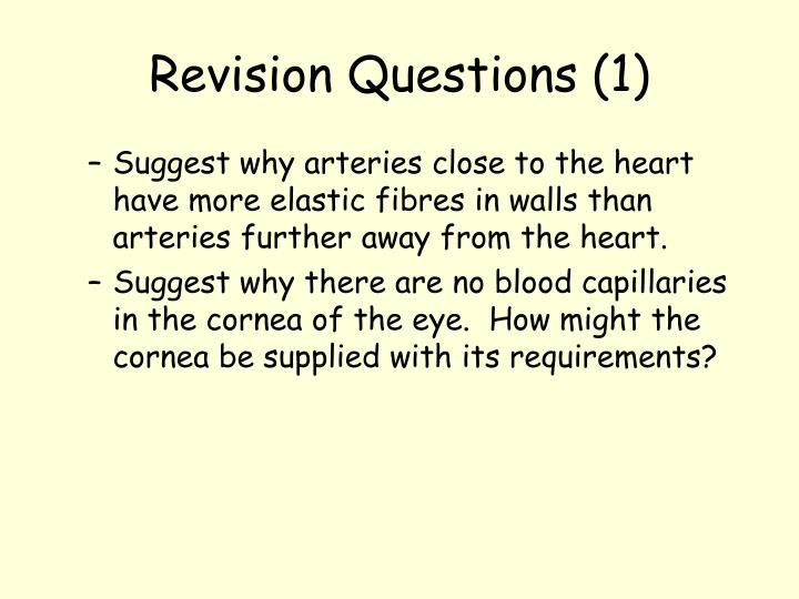 Revision Questions (1)