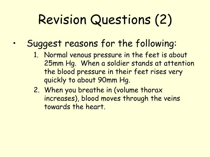 Revision Questions (2)