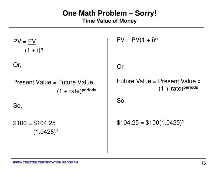 One Math Problem – Sorry!