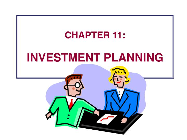 Chapter 11 investment planning