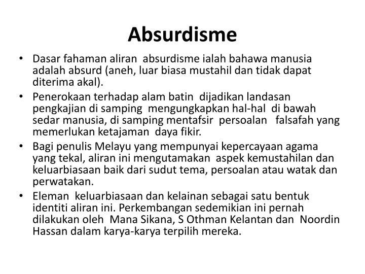 Absurdisme