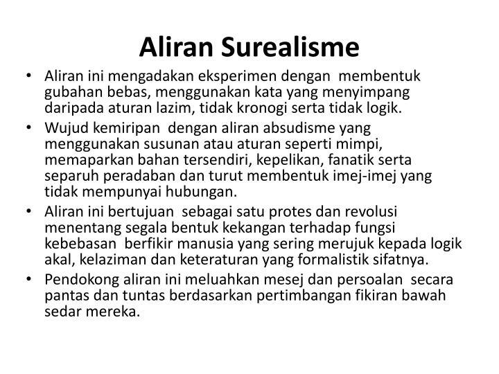 Aliran Surealisme