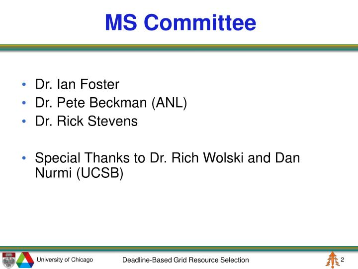 Ms committee