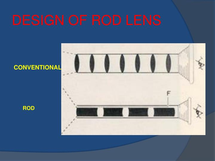 DESIGN OF ROD LENS