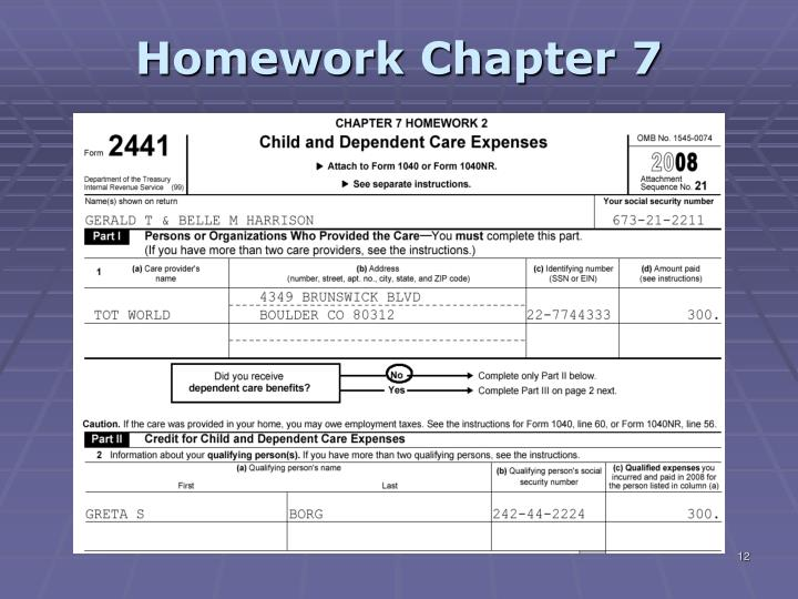 tax homework set 3