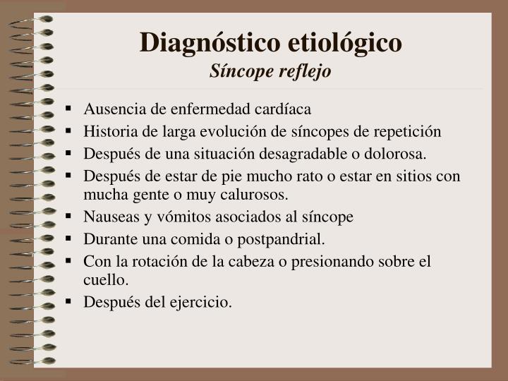 Diagnóstico etiológico