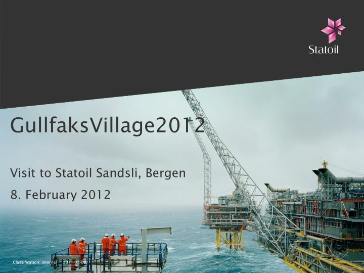 Gullfaksvillage2012