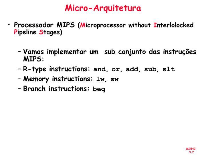 Micro-Arquitetura