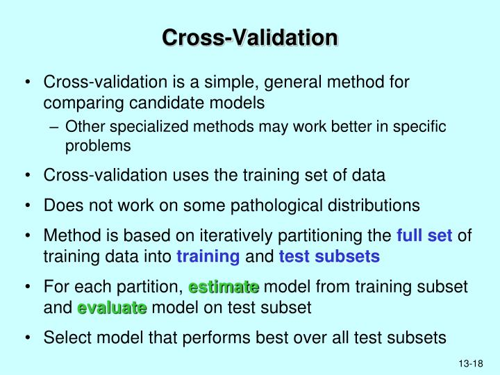 Cross-Validation