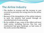 the airline industry1