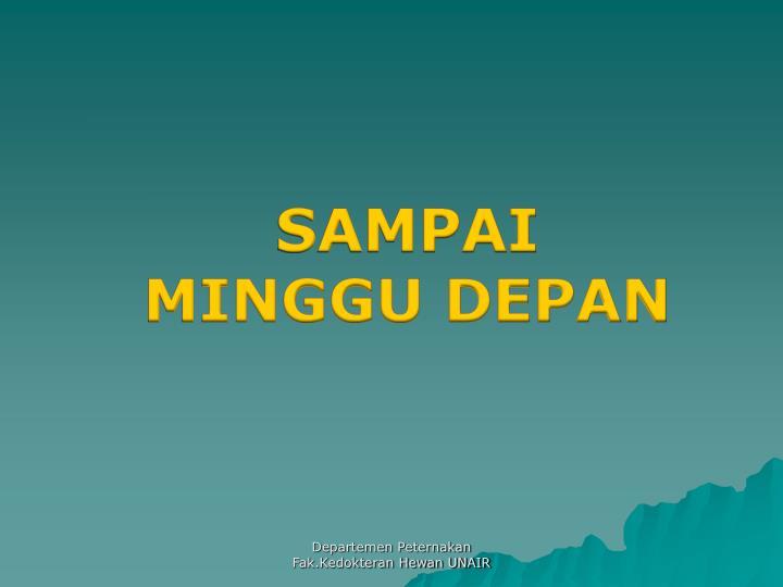 SAMPAI