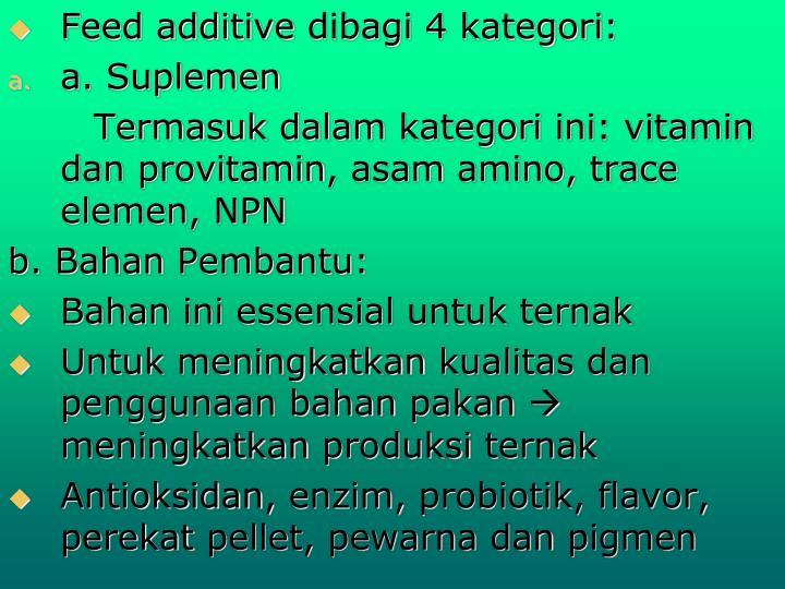 Feed additive