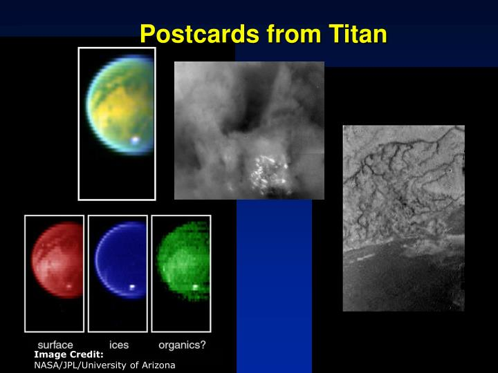 Postcards from Titan