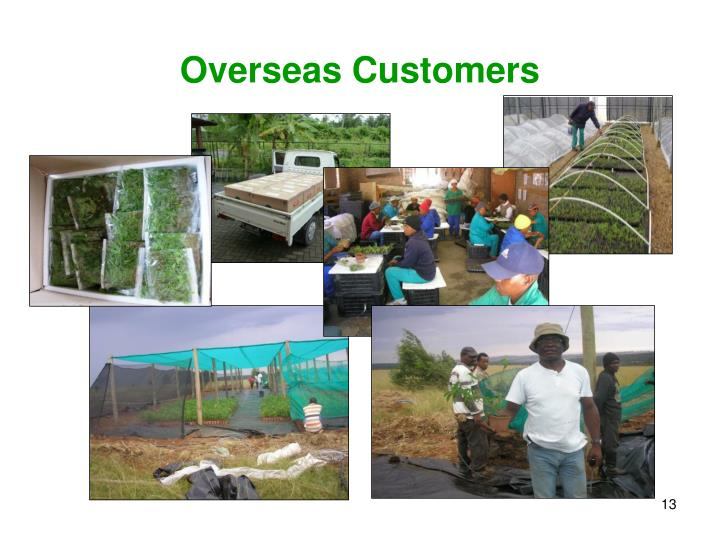 Overseas Customers
