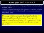 intersoggettivit primaria 2
