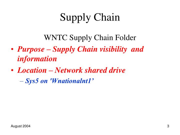 Supply chain2