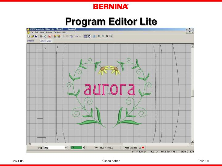 Program Editor Lite