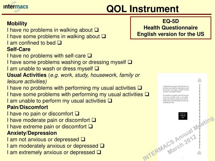 QOL Instrument