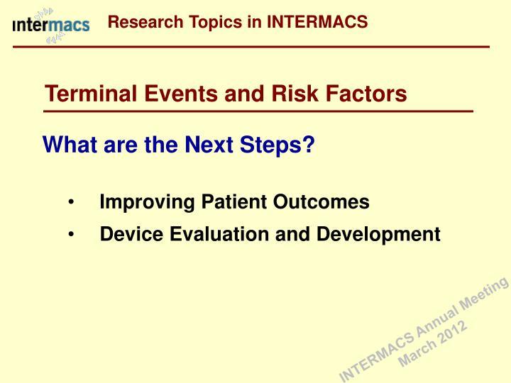 Research Topics in INTERMACS
