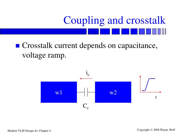 Coupling and crosstalk