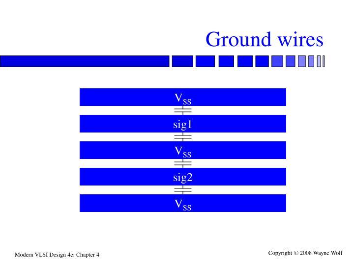 Ground wires