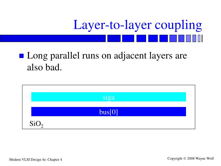 Layer-to-layer coupling