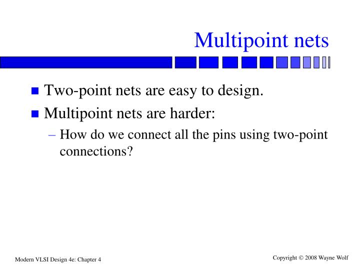 Multipoint nets