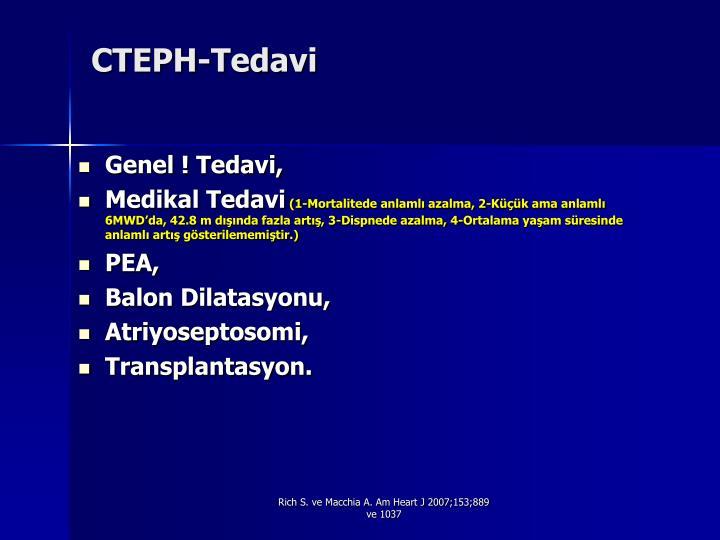 CTEPH-Tedavi