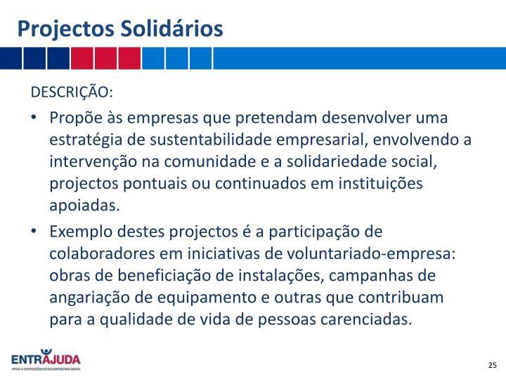 Projectos Solidários