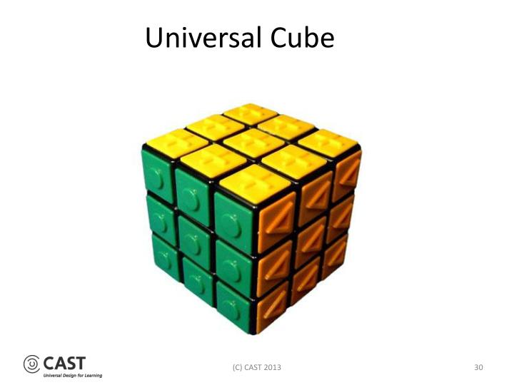 Universal Cube