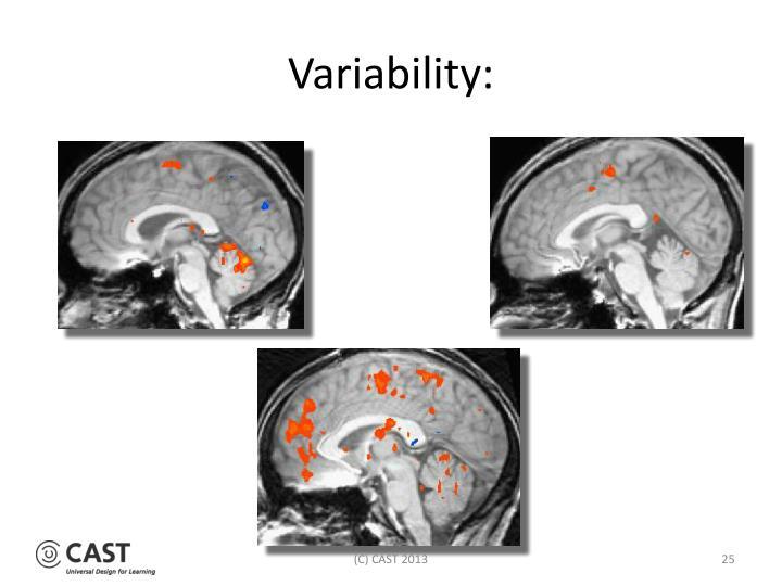 Variability: