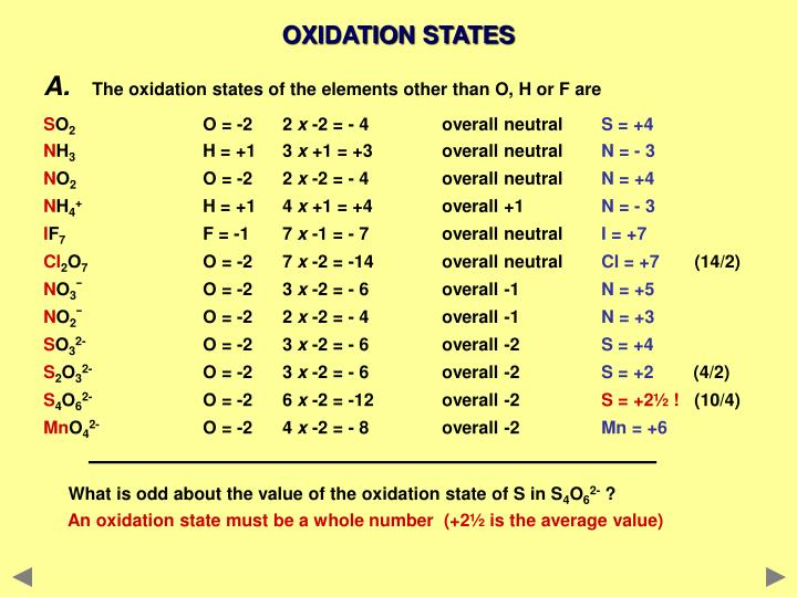 oxidation states and oxidation number pdf
