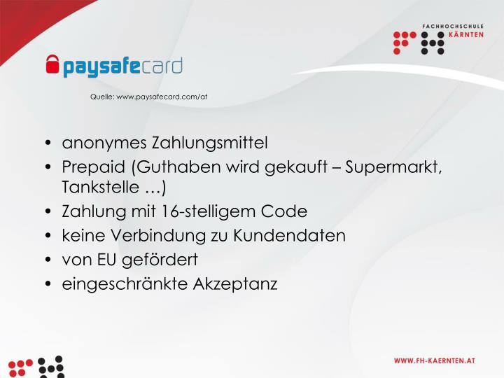 Quelle: www.paysafecard.com/at
