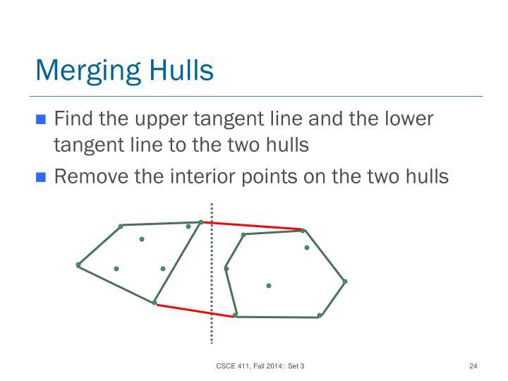 Merging Hulls