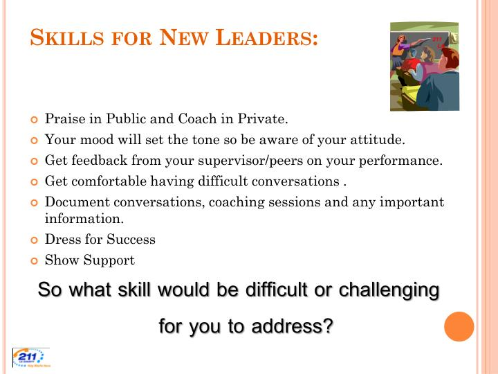 Skills for New Leaders: