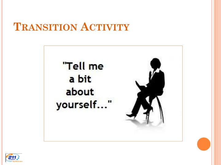 Transition Activity