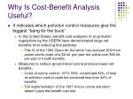 why is cost benefit analysis useful