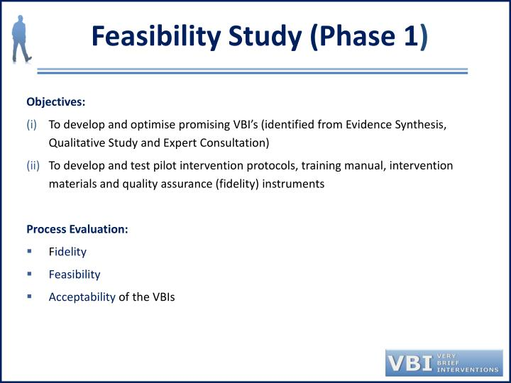 Feasibility Study (Phase 1