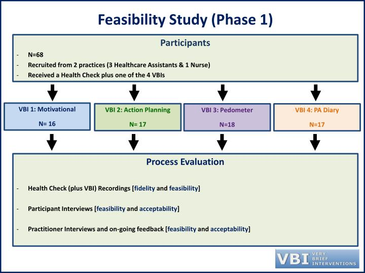 Feasibility Study (Phase 1)